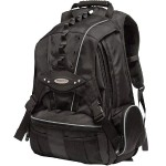 Premium Backpack - Black with Silver Trim