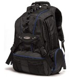 Premium Backpack - Black with Navy Trim