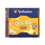 Verbatim DataLifePlus 4.7GB 4x Speed DVD+RW with Jewel Case 94520