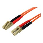 10m Fiber Optic Cable - Multimode Duplex 50/125 - LSZH - LC/LC - OM2 - LC to LC Fiber Patch Cable