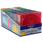 Verbatim CD/DVD Color Slim Cases - Pack of 50 94178