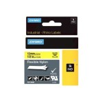 "RhinoPRO 1/2"" Yellow Flexible Nylon Labels"