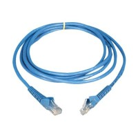 TrippLite Cat6 Gigabit Snagless Molded Patch Cable (RJ45 M/M) - Blue, 7-ft. N201-007-BL