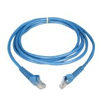 Cat6 Gigabit Snagless Molded Patch Cable (RJ45 M/M) - Blue, 14-ft.