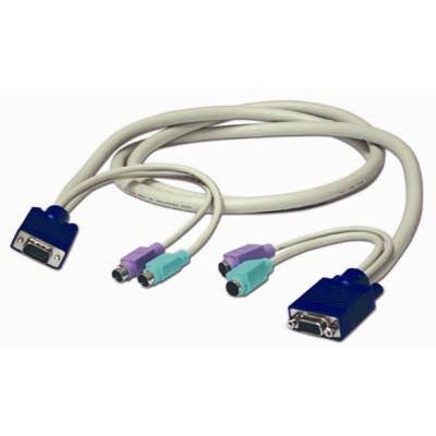 Cables To Go keyboard / video / mouse (KVM) extension cable - 10 ft (24743 )