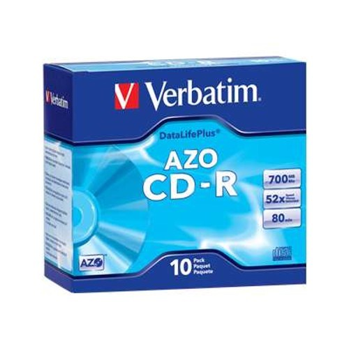 Verbatim 10Pack CD-R 80 Min. 700MB 52X - Storage media