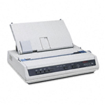 Oki Microline 186 - Printer - monochrome - dot-matrix - 240 x 216 dpi - 9 pin - up to 375 char/sec - USB, serial 62422401