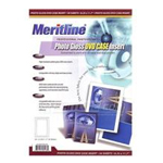 Meritline Glossy DVD Case Inserts - 50 Sheets, 1 Pack 161-005
