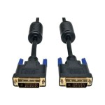 DVI Dual Link Cable, Digital TMDS Monitor Cable (DVI-D M/M), 10-ft.