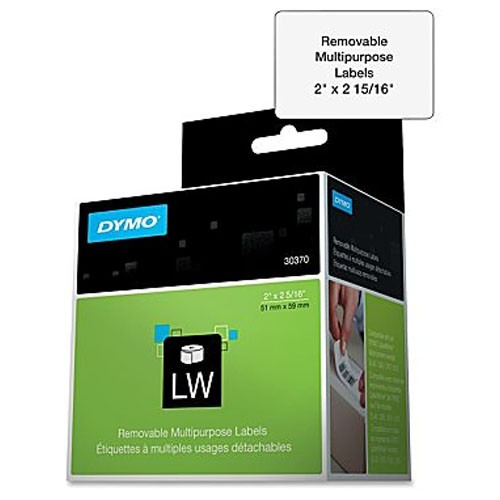 Dymo ZIP Disk Labels - Removable Adhesive