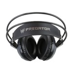 Predator Gaming Headset - Headset - full size - black, red