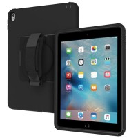 Incipio Capture Ultra-Rugged Case with Rotating Hand Strap for iPad Pro 9.7 - Black IPD-323-BLK