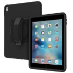CAPTURE - Back cover for tablet - rugged - silicone, polycarbonate, polymer - black - for Apple 9.7-inch iPad Pro