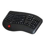Tru-Form WKB-3500UB - Keyboard - with trackball - wireless - 2.4 GHz - US