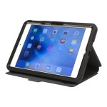 Flip - Flip cover for tablet - microfiber leather - black - for Apple iPad mini 4