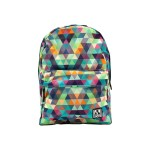 Graffiti Pack - Backpack with built-in battery - triangles