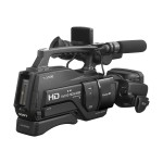 Sony HXR-MC2500 - Camcorder - 1080p - 6.59 MP - 12 x optical zoom - flash 32 GB - flash card - Wi-Fi, NFC HXRMC2500