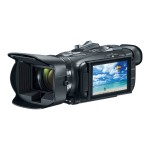 Canon VIXIA HF G40 - Camcorder - High Definition - 59.94 fps - 3.09 MP - 20 x optical zoom - flash card - Wi-Fi 1005C002