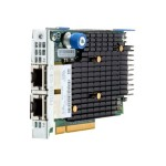 Hewlett Packard Enterprise FlexFabric 556FLR-T - Network adapter - PCIe 3.0 x8 - 10GBase-T x 2 - for ProLiant DL160 Gen9, DL180 Gen9, DL20 Gen9, DL360 Gen9, DL380 Gen9, DL560 Gen9, DL580 Gen9 794525-B21