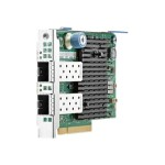 562FLR-SFP+ - Network adapter - PCIe 3.0 x8 - 10 Gigabit SFP+ x 2 - for Apollo 4200 Gen9; ProLiant DL180 Gen9, XL230a Gen9 NHP Compute Tray (12G)