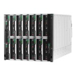 Synergy 12000 Frame - Rack-mountable - 10U - up to 6 blades - power supply - hot-plug