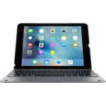 ClamCase + - Keyboard and folio case - Bluetooth - space gray keyboard, space gray case - for Apple iPad Air 2