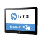 "L7014t Retail Touch Monitor - LED monitor with KVM switch - 14"" (14"" viewable) - touchscreen - 1366 x 768 - TN - 200 cd/m² - 350:1 - 16 ms - DisplayPort -  black, asteroid"