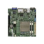SUPERMICRO A1SRI-2358F - Motherboard - mini ITX - Intel Atom C2358 - USB 3.0 - 4 x Gigabit LAN - onboard graphics