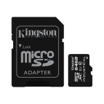 64GB MICROSDXC UHS-I CLASS 10 INDUSTRIAL TEMP CARD + SD ADAPTER