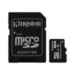 Kingston Digital 8GB MICROSDHC UHS-I CLASS 10 INDUSTRIAL TEMP CARD + SD ADAPTER SDCIT/8GB