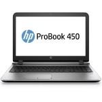 """Smart Buy ProBook 450 G3 Intel Core i5-6200U Dual-Core 2.30GHz Notebook PC - 4GB RAM, 500GB HDD, 15.6"""" HD LED, DVD+/-RW SuperMulti, Gigabit Ethernet, 802.11a/b/g/n/ac, Bluetooth, Webcam, 4-cell 44WHr Li-Ion"""