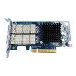 LAN-40G2SF-MLX - Network adapter - 40 Gigabit QSFP x 2 - for  TS-879U-RP, TS-EC879U-RP, TS-EC880, TS-EC880U-RP