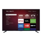 "Roku TV 55FS3750 - 55"" Class (54.6"" viewable) LED TV - with TV tuner - Smart TV - 1080p (Full HD) - direct-lit LED, dynamic backlight - black, black high gloss"