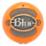 Blue Microphones Snowball USB Microphone - Bright Orange 3039