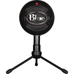 Snowball iCE USB Microphone with HD Audio - Black Ice