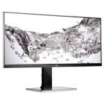 "Professional U3477PQU - LED monitor - 34"" - 3440 x 1440 - IPS - 320 cd/m2 - 1000:1 - 80,000,000:1 (dynamic) - 5 ms - HDMI, DVI-D, VGA, DisplayPort - speakers - black (Open Box Product, Limited Availability, No Back Orders)"