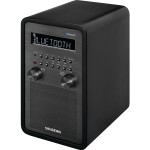Sangean R-50 - Clock radio - 6 Watt - matt black WR-50