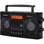 Sangean DR-16 - Portable radio - 10 mW - black HDR-16