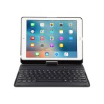 VersaType - Keyboard and folio case - wireless - black keyboard , black case