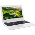 "CB3-131-C3SZ Intel Celeron Dual-Core N2840 2.16GHz Chromebook - 2GB RAM, 16GB SSD, 11.6"" IPS LED, 802.11ac, Bluetooth, Webcam, 3-cell Li-Polymer, White"