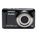 Kodak PIXPRO Friendly Zoom FZ53 - Digital camera - compact - 16.15 MP - 720p / 30 fps - 5 x optical zoom - black FZ53-BK