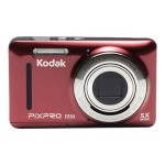 PIXPRO Friendly Zoom FZ53 - Digital camera - compact - 16.15 MP - 720p / 30 fps - 5x optical zoom - red