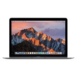 "Apple MacBook 12"" with Retina Display, Intel 1.1GHz Dual-Core Intel Core m3 processor, 8GB RAM, 256GB PCIe-based flash storage & Intel HD Graphics 515 - Space Gray - Early 2016 MLH72LL/A"