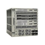 Catalyst 6807-XL - Switch - 8 x 1 Gigabit / 10 Gigabit SFP+ + 2 x 40 Gigabit QSFP - rack-mountable - with  Supervisor Engine 2T (C6800-SUP6T), fan tray