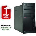 ThinkCentre M58p Intel Core 2 Duo E8400 3.0GHz Tower Desktop - 4GB RAM, 500GB HDD, DVD-ROM, Gigabit Ethernet - Refurbished