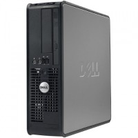 Dell OptiPlex 760 Intel Core 2 Duo Q6600 Quad-Core 2.40GHz Small Form Factor Desktop - 4GB RAM, 2TB HDD, DVD-ROM, Gigabit Ethernet - Refurbished RB-729910987545