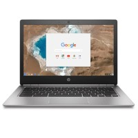 "HP Inc. Smart Buy Chromebook 13 G1 Intel Core m5-6Y57 Dual-Core 1.1GHz - 8GB RAM, 32GB SSD, 13.3"" WLED QHD+ UWVA, 802.11a/b/g/n/ac, Bluetooth, Webcam, 3-cell 45WHr Li-Ion Polymer W0T01UT#ABA"