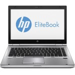 "EliteBook 8470p Intel Core i5-3320M Dual-Core 2.6GHz Notebook PC - 8GB RAM, 320GB HDD, 14.0"" LED-backlit HD, DVD-ROM, Gigabit Ethernet - Refurbished"