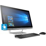 "Pavilion 27-a030 - All-in-one - 1 x Core i5 6400T / 2.2 GHz - RAM 12 GB - HDD 1 TB - DVD SuperMulti - HD Graphics 530 - GigE - WLAN: Bluetooth 4.0, 802.11a/b/g/n/ac - Windows 10 - monitor: LED 27"" 1920 x 1080 (Full HD) touchscreen"