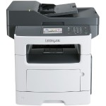 MX511de Monochrome Laser Multifunction Printer with CAC Enablement, 4-Yr. Onsite Repair & Air Force Code (TAA Compliant)